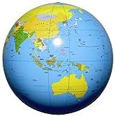 地球儀ボール(ブルー) 50cm