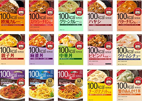 大塚食品 美味しくて 100kcal マイサイズ 選べる楽しさ 15種 お試しセット/カロリー計算にも便利