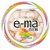 味覚糖 e-maのど飴容器 ミラクルチェンジ 33g×6個