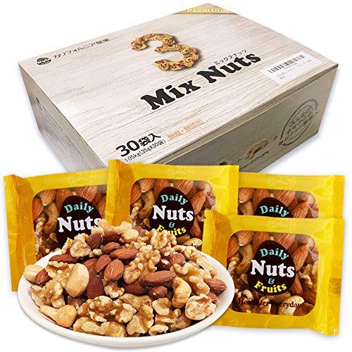 小分け3種 ミックスナッツ 1.05kg (35gx30袋)...