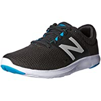 New Balance Men's Koze Running Shoes, Black, 9 US