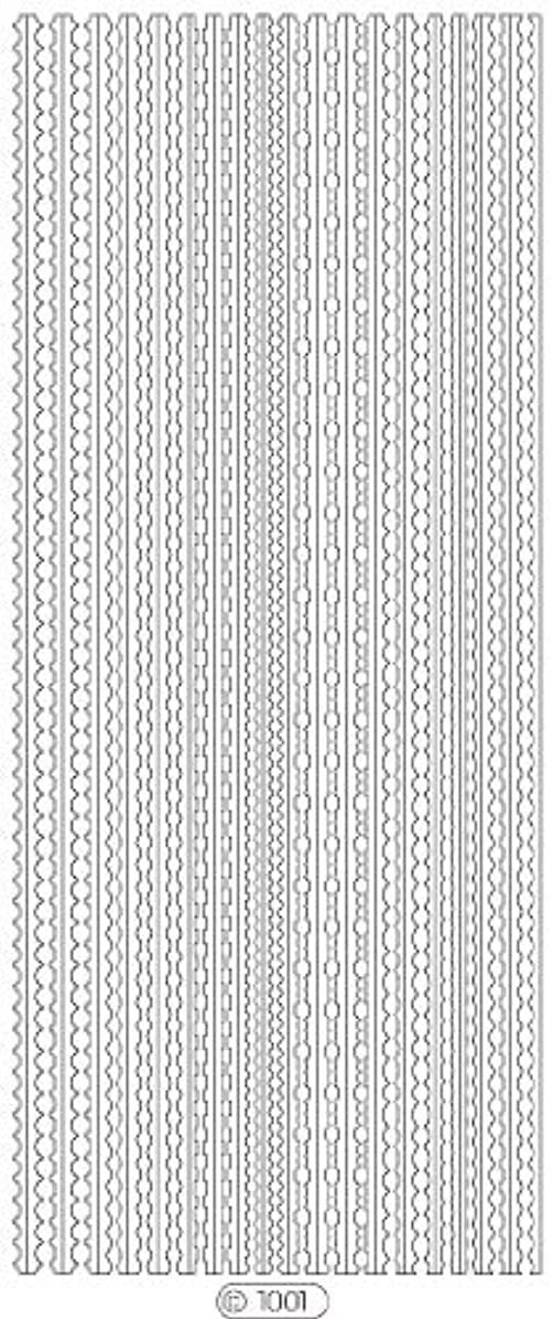 熱狂的なサラミトラフロココシール C1001 (シルバー)