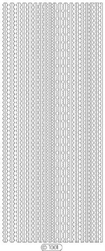 ダーリンパース再集計ロココシール C1001 (シルバー)