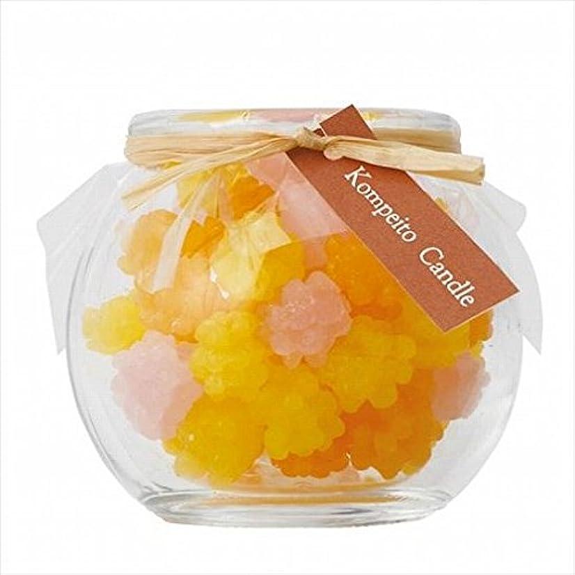 保存する横向き食品sweets candle(スイーツキャンドル) こんぺいとう 「 イエロー 」 キャンドル 65x65x58mm (A6500000Y)