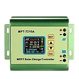 Anself MPPT チャージコントローラー ソーラーパネル レギュレータ充電コントローラ 液晶ディスプレイ DC-DCブースト充電機能 24/36/48/60/72V 10A 互換性