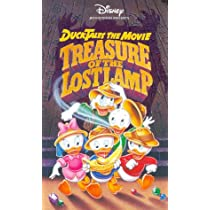 Ducktales: Treasure of the Lost Map [VHS]
