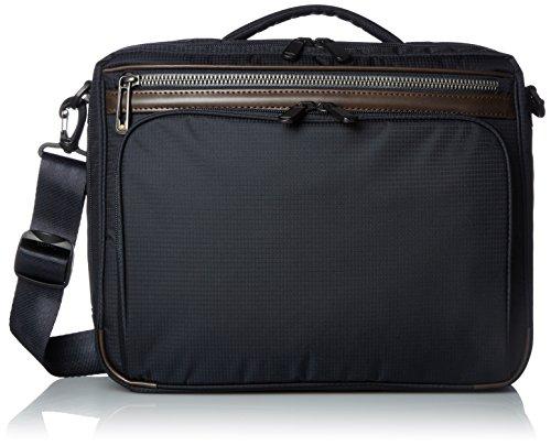 [エースジーン] ビジネスバッグ フレックスライトフィット A4 2気室 軽量 54556 03 ネイビー