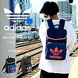 adidas Originals(アディダス オリジナルス) バックパック HERI BACKPACK CLASSIC 13L F76907-ブラック/ホワイト amj43-F76907