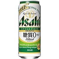 アサヒ スタイルフリー 500ml缶×24本