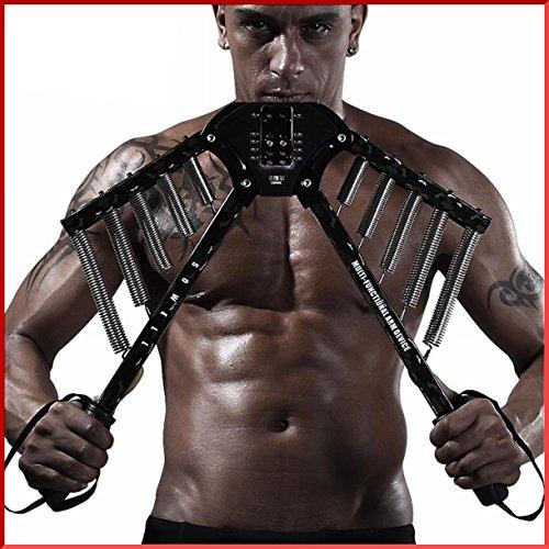 トリプルエス 筋トレ 最強 マッスルモンスター 大胸筋 腕 アームバー 30kg ?60kg 調整可能 短期間でムキムキ