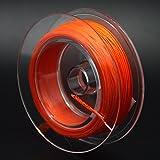 SAMS FISHING フライ バッキングライン ダクロン フライフィッシング フライフィッシング用 バッキングライン 色選択可 20-30lbs 55-109ヤード (Orange, 30lb 50m/55yds)