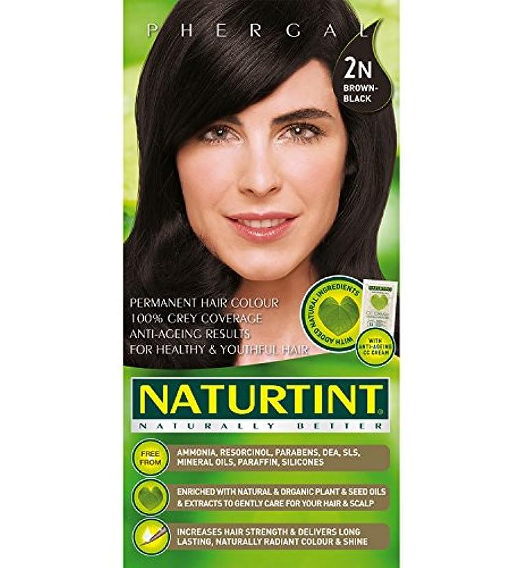講義超越する特異なNaturtint Hair Color 2N Brown Black Permanent (並行輸入品)