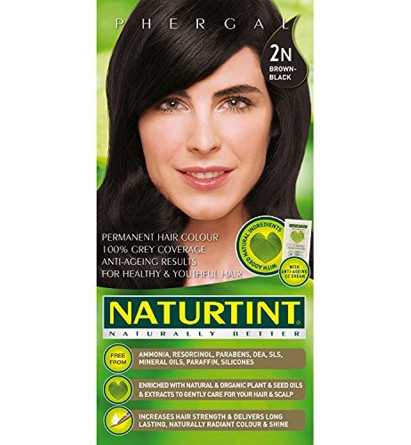 豆慰めキュービックNaturtint Hair Color 2N Brown Black Permanent (並行輸入品)