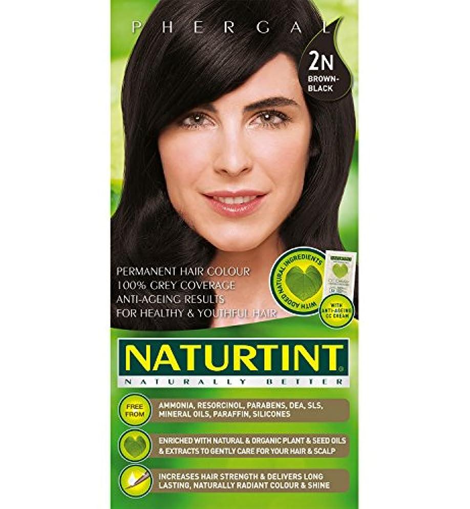 意味首謀者少なくともNaturtint Hair Color 2N Brown Black Permanent (並行輸入品)