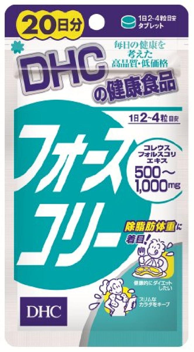 同様に偽凝視DHC フォースコリー (20日分) 80粒
