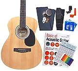 アコースティック・ギター アコギ 初心者 12点セット Legend FG-15 スタートセット アコギ 入門 N [98765]