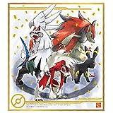 ポケモン 色紙ART4 [5.ブラッキー&ゾロアーク&ルガルガン&シルヴァディ(箔押し)](単品)※お菓子は付属しません。