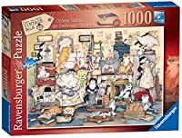 Ravensburger Crazy Cats Vintage No.8 - Go Salvage Hunting 1000pcジグソーパズル