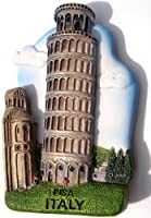 Leaning Tower of Pisa Italy, High Quality Resin 3d Fridge Magnet by Please Click here Looking for more WorldWide Magnets