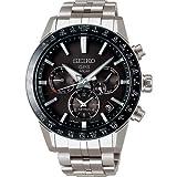 [ノベルティプレゼント][アストロン]ASTRON 腕時計 アストロン 第3世代 ソーラーGPS チタンモデル 黒文字盤 サファイアガラス ダイヤシールド SBXC003 メンズ