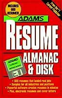 Adams Resume Almanac With Disk