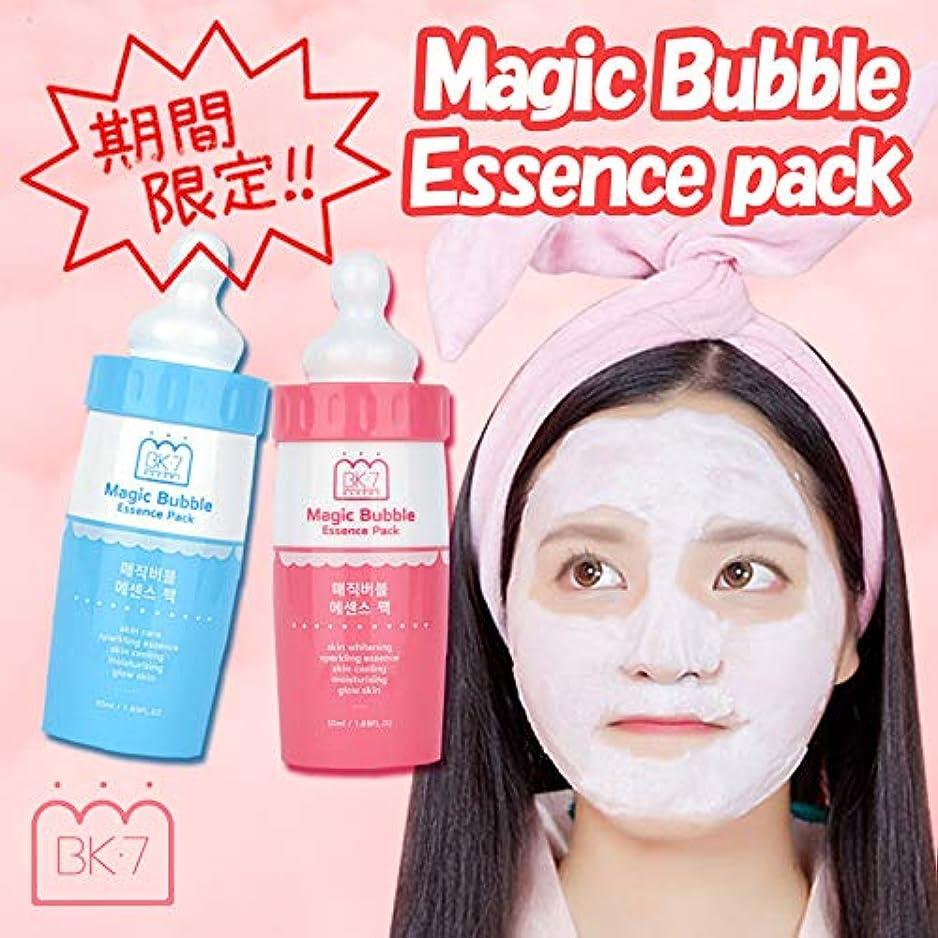 ★再入荷★発売3週間で売り切れ★マジックバブルエッセンスパック for WHITE Magic Bubble Essenve Pack for WHITE / 洗い流さなくてもいい炭酸パック/炭酸パック/バブルパック