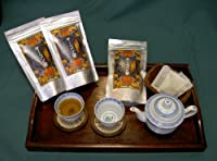 【健康村コロポックルの里から】ヤーコン茶 有機栽培のヤーコン葉を使用 健康と美容に 糖と脂が気になる方に