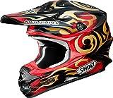 ショウエイ(SHOEI) バイクヘルメット オフロード VFX-W TAKA (タカ) TC-1 (RED/BLACK) M(57cm)