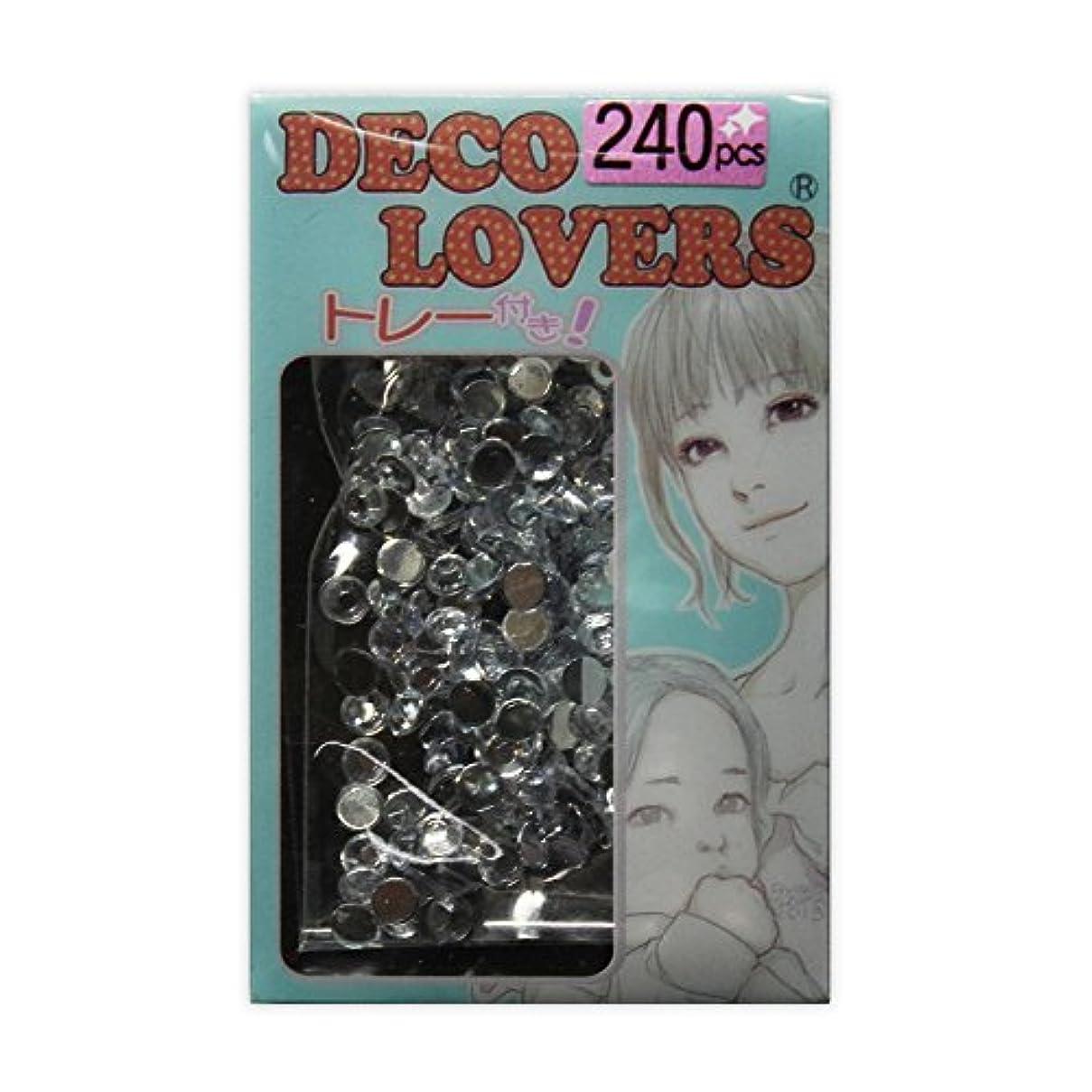 警官バケット馬鹿ラインストーン DL028/acryl3mm crystal
