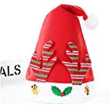 HuaQingPiJu-JP クリスマス用品Red Antlers子供用クリスマスハット_Red
