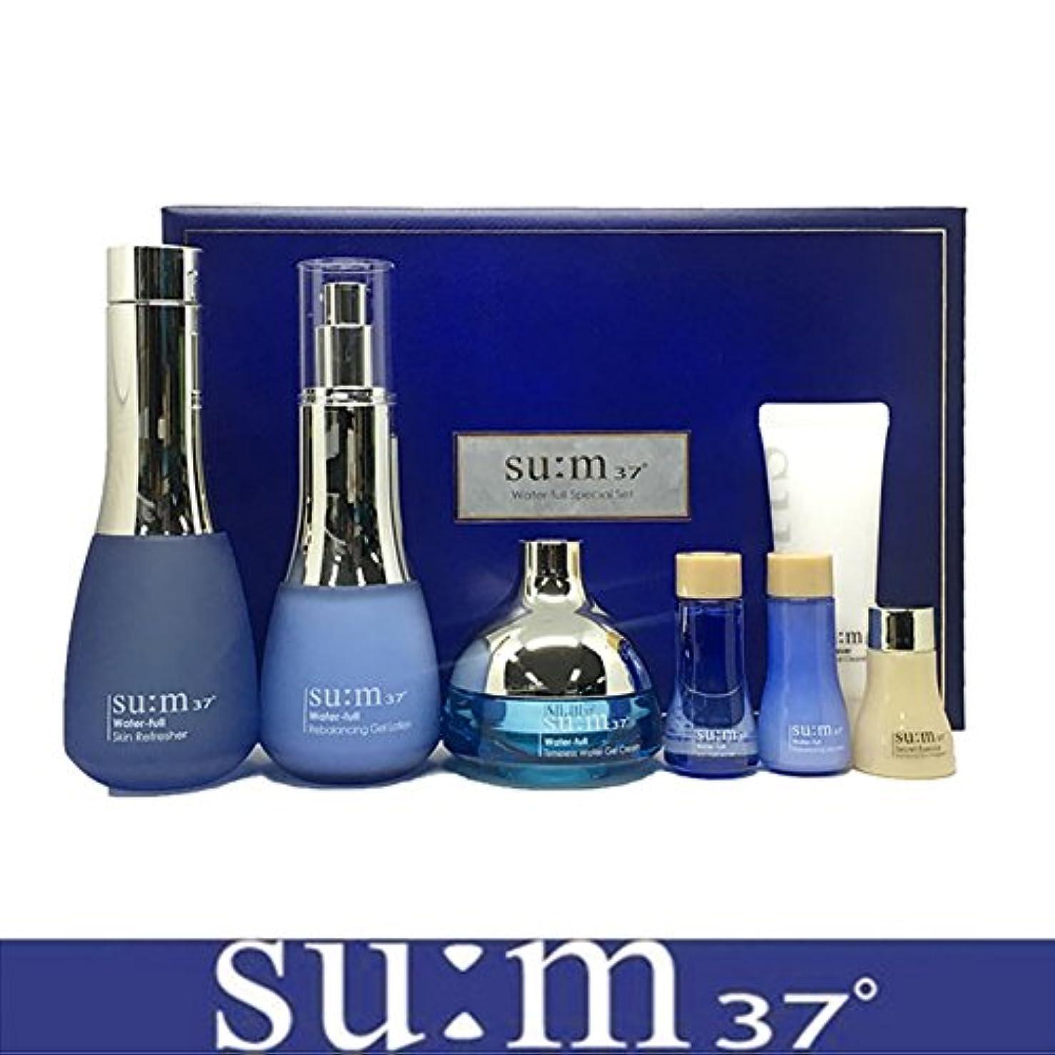 味わうコミュニティ円形[su:m37/スム37°] SUM37 Water full 3pcs Special Skincare Set/sum37 スム37 ウォーターフル 3種企画セット+[Sample Gift](海外直送品)