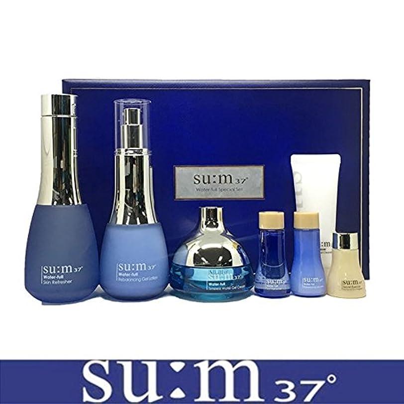 つまずくリー一般[su:m37/スム37°] SUM37 Water full 3pcs Special Skincare Set/sum37 スム37 ウォーターフル 3種企画セット+[Sample Gift](海外直送品)