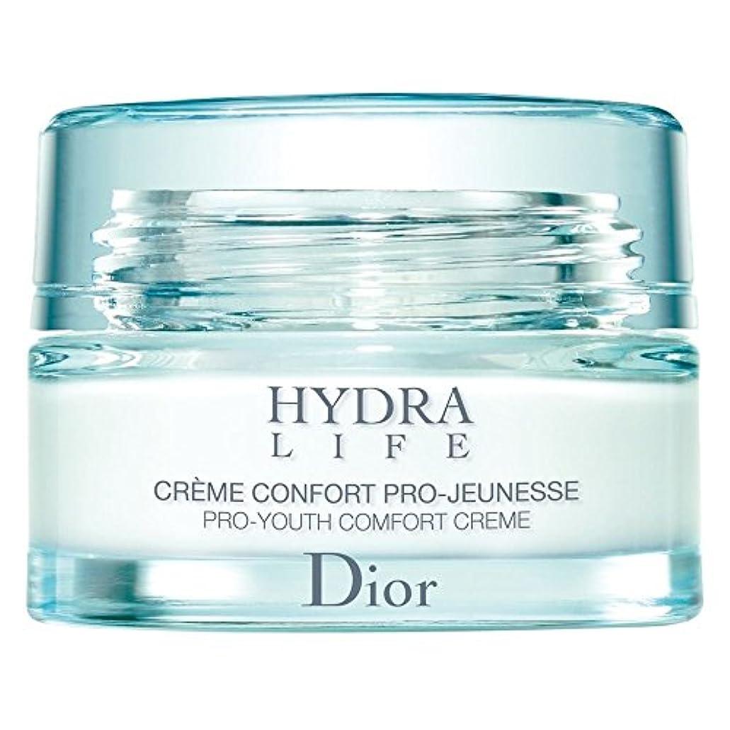 芝生スーツケースヘルメット[Dior] ディオールヒドラライフプロユース快適クリーム、50ミリリットル - Dior Hydra Life Pro-Youth Comfort Cream, 50ml [並行輸入品]