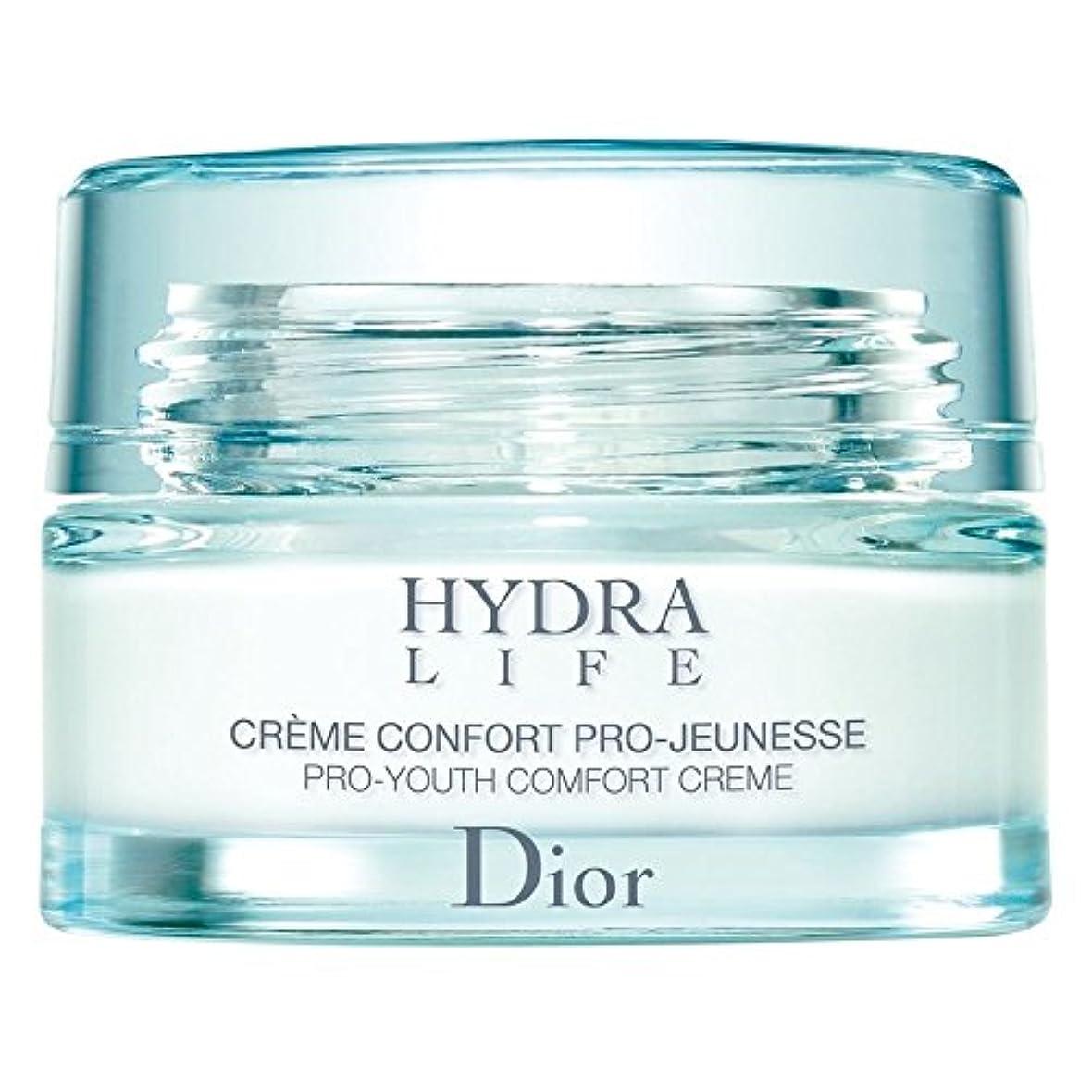 システムフラッシュのように素早くパーセント[Dior] ディオールヒドラライフプロユース快適クリーム、50ミリリットル - Dior Hydra Life Pro-Youth Comfort Cream, 50ml [並行輸入品]