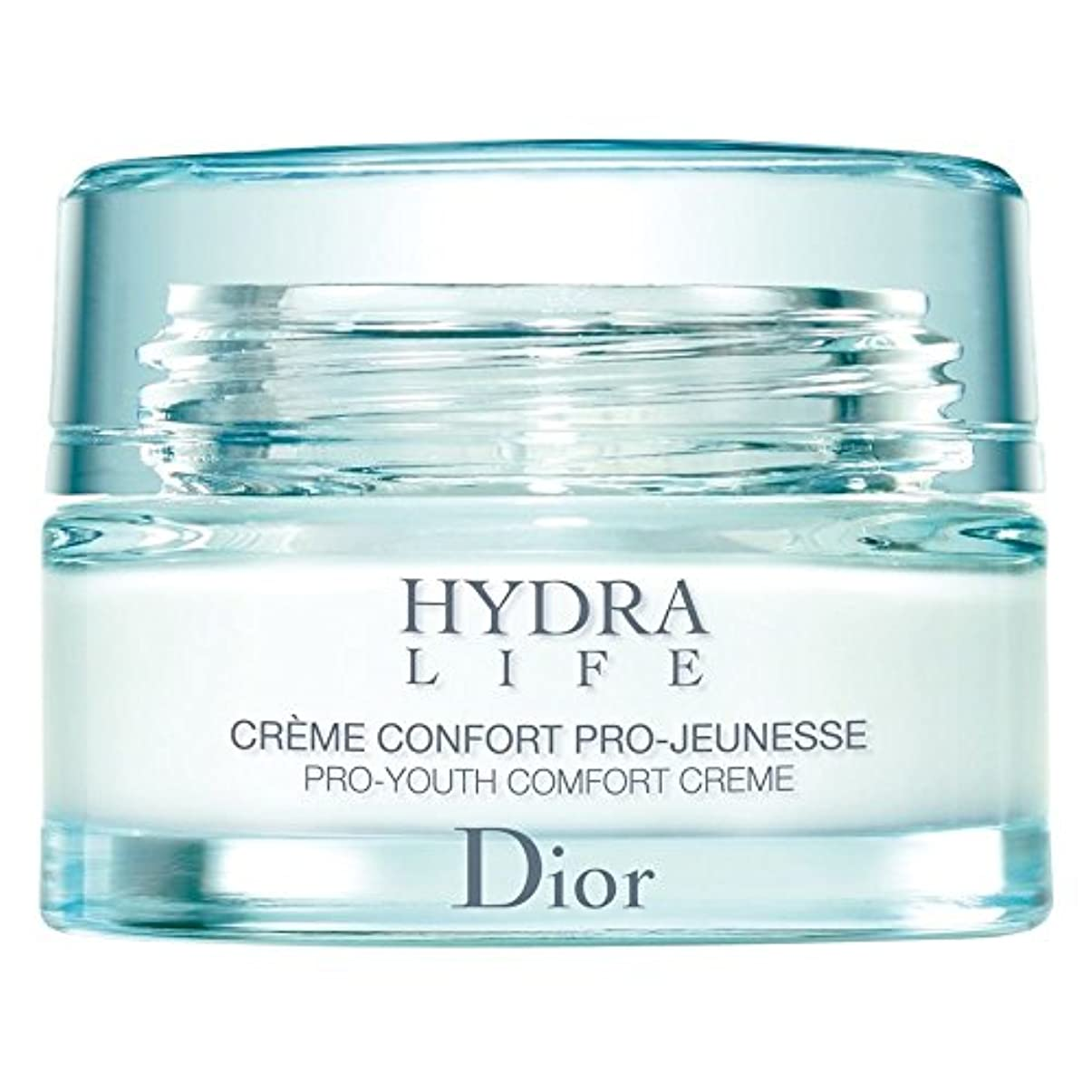からに変化する黒眉[Dior] ディオールヒドラライフプロユース快適クリーム、50ミリリットル - Dior Hydra Life Pro-Youth Comfort Cream, 50ml [並行輸入品]