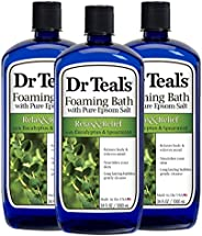 Dr. Teal's Foaming Bath, 34 Ounce (Pack o