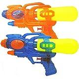 2ピースクリエイティブ水鉄砲夏の子供のおもちゃシャワーサーフィン水鉄砲子供の水鉄砲のおもちゃ ( Color : Multi-colored , Size : S )