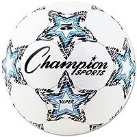 ChampionスポーツViperサッカーボール、サイズ5、ホワイト