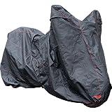溶けないバイクカバー 2Lサイズ 最高級生地オックス300D 超撥水 耐熱 撥水 防水 ボディーカバー ボディカバー 車体カバー
