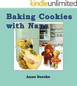 Baking Cookies with Nana (Easy Reader series Book 8) (English Edition)