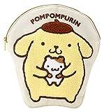 ポムポムプリン ペンポーチ(サガラ刺繍)