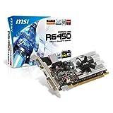 MSI ATI Radeon HD6450 1 GB DDR3 VGA/DVI/HDMI Low Profile PCI-Express Video Card R6450-MD1GD3/LP