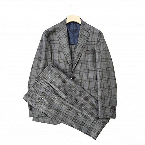 filomarino (フィロマリーノ) スーツ 段返り3B チェック ウール 100% 春夏 メンズ ブランド イタリア【並行輸入品】