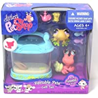 Littlest Pet Shop Portable Pets Gift Set Funniest #928 Yellow Frog and #929 Hermit Crab by Hasbro [並行輸入品]