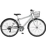 ミヤタ(MIYATA) クロスバイク SJクロス BSH42A7(OS15) マットシルバー