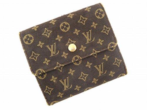 (ルイヴィトン) Louis Vuitton 二つ折り財布 Wホック財布 モノグラム・イディール レディース 中古 U2789