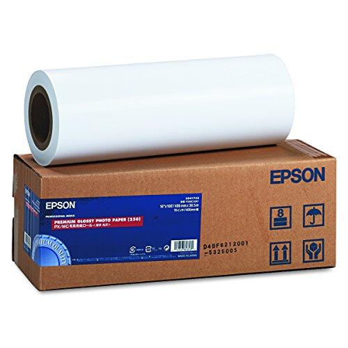 セイコーエプソン プロッタ用紙 ロール紙 プロフェッショナルフォトペーパー厚手光沢 PXMC16R1