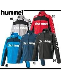 hummel(ヒュンメル) ジュニア裏起毛ウォームアップスウェットジャケット (hjt2060) 20レッド 130