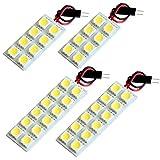 【断トツ120発!!】 GK1/2 モビリオスパイク LED ルームランプ 4点セット [H14.9~H20.4] ホンダ 基板タイプ 圧倒的な発光数 3chip SMD LED 仕様 室内灯 カー用品 HJO