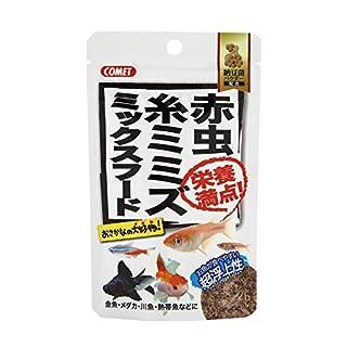 コメット 赤虫・糸ミミズ ミックスフード 納豆菌 7g